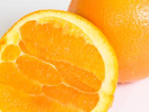 Corte de naranja Navel
