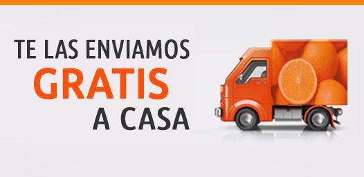 Te enviamos las naranjas gratis a casa
