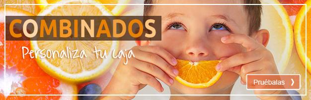 Caja de mandarinas y naranjas